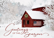 Sweet Country Life Holiday Greeting Cards